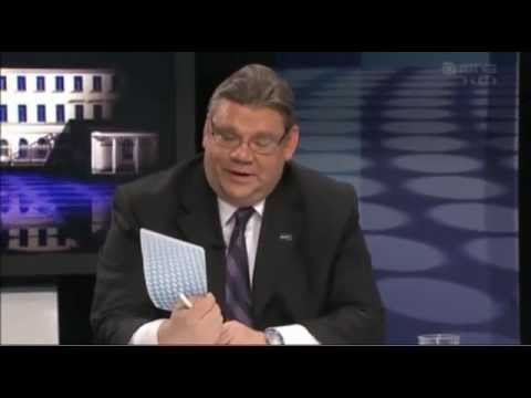 Timo Soini: Miksi Pekka Haavistosta tulisi erittäin hyvä presidentti? tekijä: nomennudum2