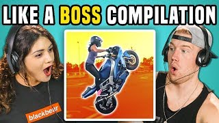 Video ADULTS REACT TO LIKE A BOSS COMPILATION MP3, 3GP, MP4, WEBM, AVI, FLV Maret 2018