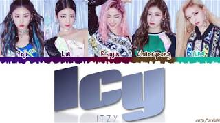 Video ITZY (있지) - 'ICY' Lyrics [Color Coded_Han_Rom_Eng] MP3, 3GP, MP4, WEBM, AVI, FLV Agustus 2019