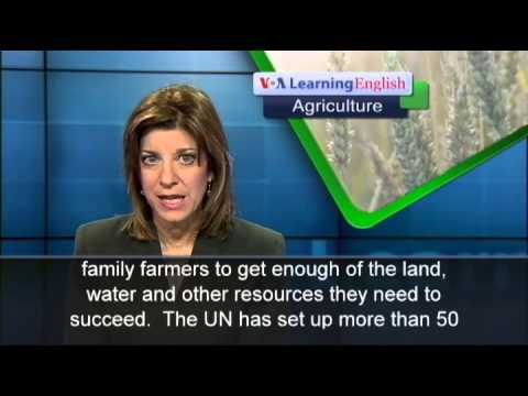 UN Declares 2014 the International Year of Family Farming