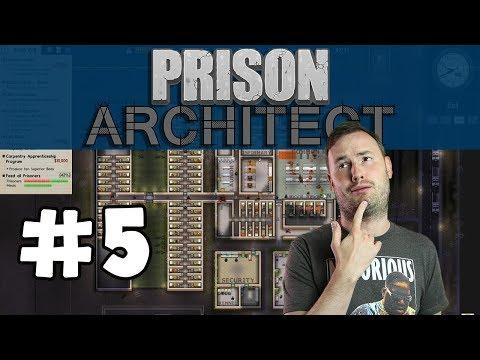 Sips Plays Prison Architect (5/8/17) - #5 - Lockdown