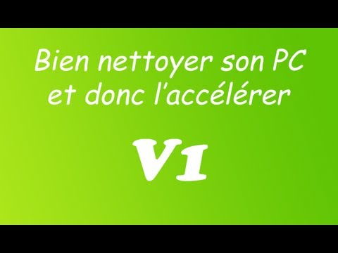 comment nettoyer pc qui rame