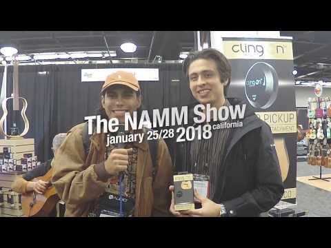 NAMM 2018 - Cling On Pickup - KUCR