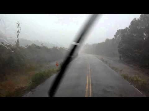Jabora SC muita chuva e rodovia pessima isso foi em novembro de 2014