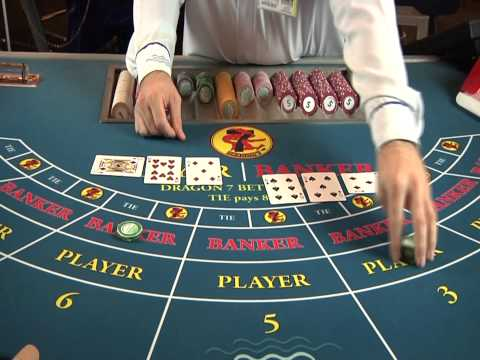 Casino Del Mar's How to Play Baccarat