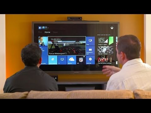 DEMO - Marc Whitten and Yusuf Mehdi walk through a comprehensive demo of Xbox One, including instant switching, biometric sign-in, Live TV, Skype, game DVR, OneGuid...