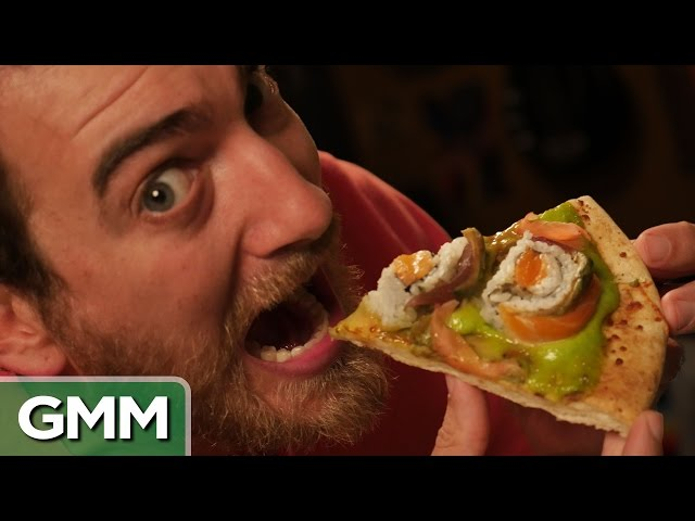 Good Mythical Morning In Spanish : Will it pizza taste test mp fordfiesta