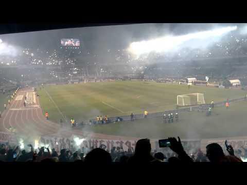 Recibimiento RIVER vs independiente del valle - Los Borrachos del Tablón - River Plate