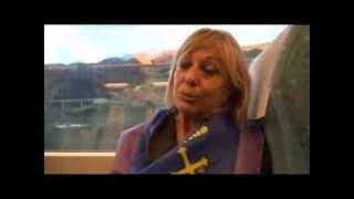 El tren de la libertad - Reportaje a Blanca Canedo-Argüelles