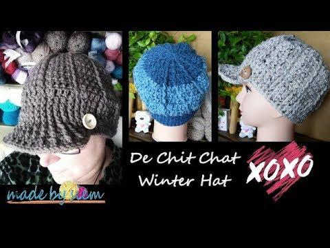 Chit Chat Winter Hat - Haken - Tutorial - Nederlands