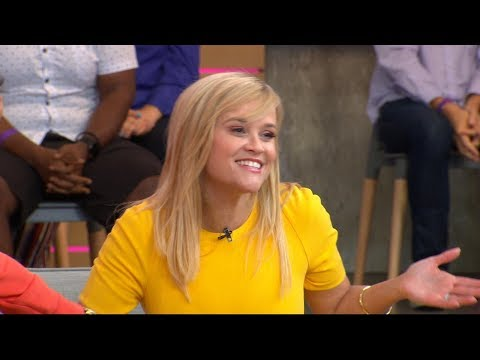 Reese Witherspoon talks new book, throwing ice cream at Meryl Streep
