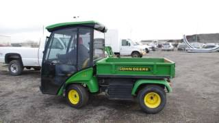 9. Lot 219 - 2007 John Deere 2030 Pro-Gator Turf Truck With Hydraulic Dump Box  - Lot 219