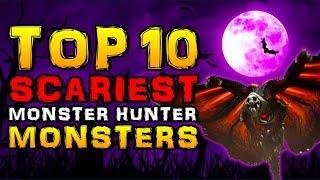 Video Top 10 Scariest Monster Hunter Monsters MP3, 3GP, MP4, WEBM, AVI, FLV Mei 2019