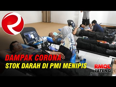 Dampak Corona, Stok Darah di PMI Kab Semarang Menipis