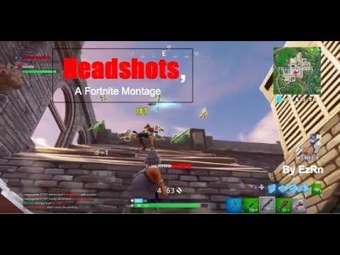 Headshots - Fortnite Montage #1