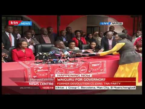 WAIGURU'S BIG ANNOUNCEMENT: Former Devolution CS Anne Waiguru to go for Governor's seat