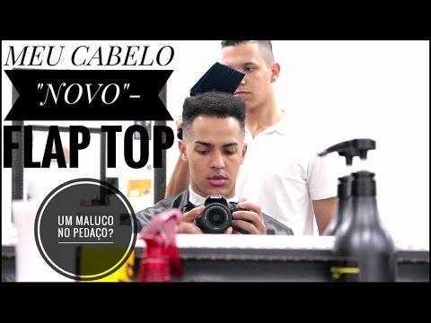 MEU NOVO CORTE DE CABELO/PENTEADO:  FLAP TOP