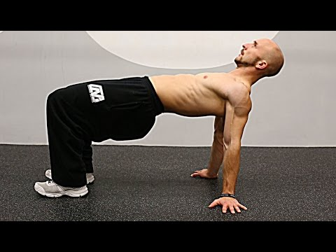 肩甲骨メインの自重トレーニング