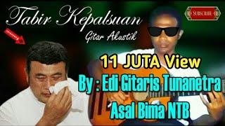 Tabir Kepalsuan - Rhoma Irama (Cover) By Gitaris Bima Tunanetra | Akustik