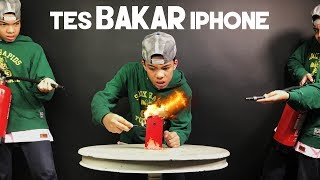 Video Tes BAKAR iPhone! MP3, 3GP, MP4, WEBM, AVI, FLV Desember 2017
