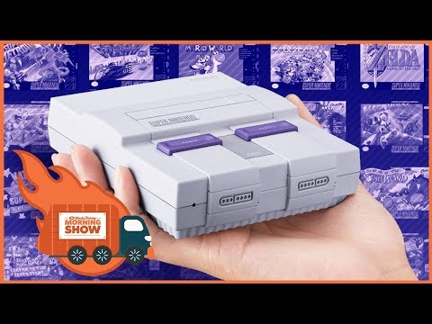 Unboxing The SNES Classic - Kinda Funny Morning Show 09.22.17
