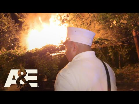 Live Rescue: Shed Catches Fire - Part 1 (Season 3)   A&E
