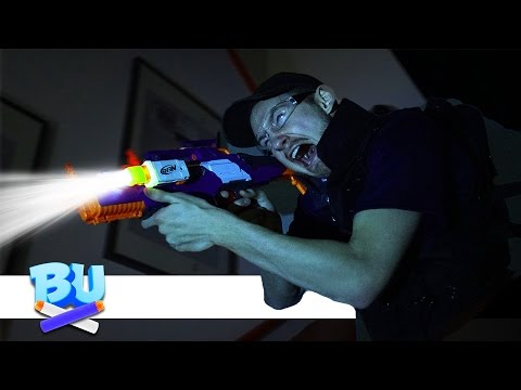 NERF SWAT Challenge: In The Dark! (видео)