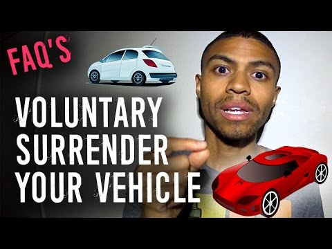 FAQs Voluntary Surrender of Your Car || Will This Affect My Credit Report?