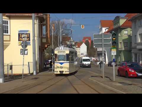 Gotha: 90 Jahre Straßenbahnlinie 2 (Haltestelle - das ...