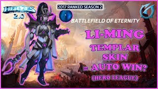 Had to test out the new Li-Ming Templar skin with my Meager Ming play, but was a great game. *Talent Build Below* (Game...