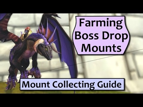 WoW Mount Collecting Guide - Farming Boss Drop Mounts Efficiently (видео)