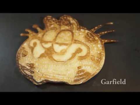 超厲害的鬆餅創作過程大公開,好吃又好看!