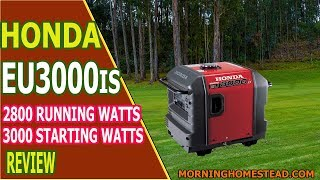 2. Honda Eu3000is Review | Is It The Best 3000W Inverter Generator for 2018?