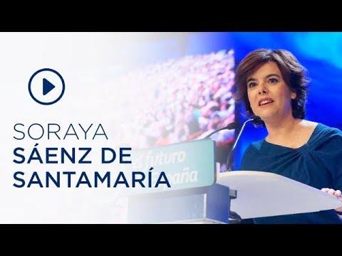 Discurso de candidatura de Soraya Sáenz de Santamaría en el 19 Congreso Nacional
