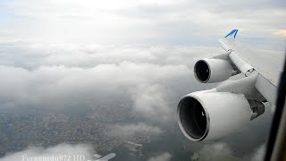 Video BOEING 747 STUNNING Approach & Landing in Paris - LOVELY Engine Sound! MP3, 3GP, MP4, WEBM, AVI, FLV Juli 2018