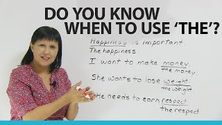 Video Grammar: Using THE with common and abstract nouns MP3, 3GP, MP4, WEBM, AVI, FLV Agustus 2019