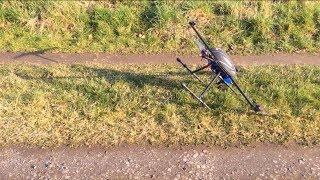 Walkera QR X800 maiden flight