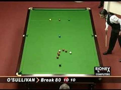 Ronnie O'Sullivan perfect frame. Unbelievable.