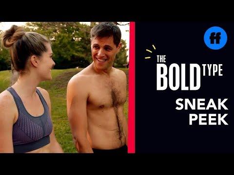 The Bold Type Season 3, Episode 5 | Sneak Peek: Suttard Goes Jogging | Freeform
