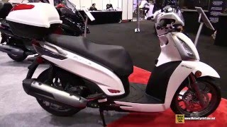 8. 2016 Kymco People GT 300i Scooter - Walkaround - 2015 AIMExpo Orlando