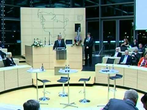 Auszeichnung des Integrationspreises 2011 im Landtag Schleswig-Holstein - Islam im Brennpunkt