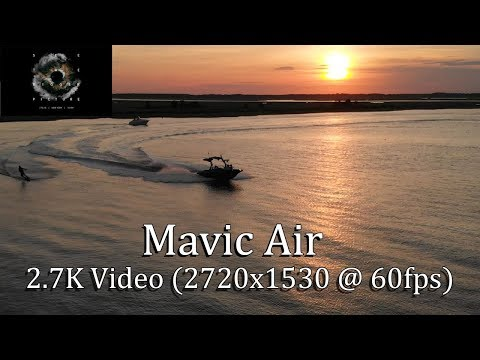 Mavic Air | 2.7K (2720x1530) @ 60fps & DJI Press Release July 2018
