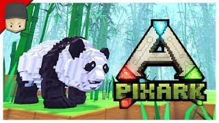 PIXARK - Ep.02 : DUNGEONS & BLUEPRINTS!