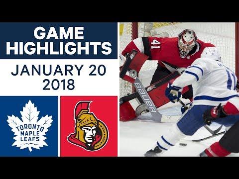 Video: NHL game in 4 minutes: Maple Leafs vs. Senators