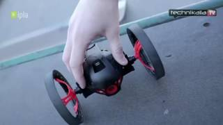 Parrot Jumping Sumo - test małego robota