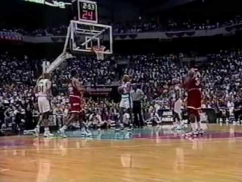Hakeem Olajuwon Dismantles David Robinson, Spurs - 1995 West Finals Game 5