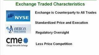 The Difference Between Over the Counter and Exchange-Based Markets