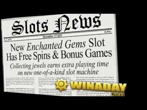 New 'Enchanted Gems' Online Slot Machine at WinADay