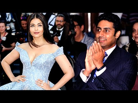 Abhishek Bachchan BLUSHES on Aishwarya Rai Bachcha