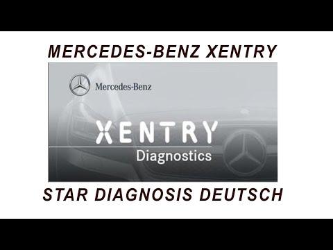 Mercedes Diagnose Xentry Star Diagnose Deutsch German